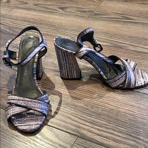 Stuart Weitzman strappy heels size 6